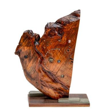 Timothy Michael Hetland Stellar Wood, stone $650