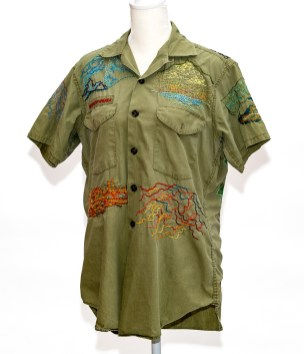 Kate Korra National Parks on Boy Scout Shirt Embroidery on shirt $1200