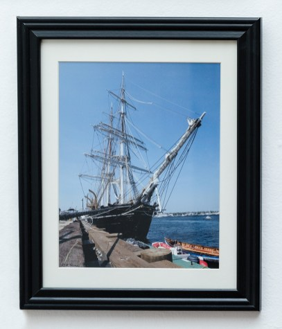 Ramon Tarini C. W. Morgan Docked in New Bedford, 2019 Photograph $125