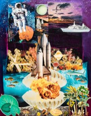 Eileen Riley Cape Canaveral II, 2021 Paper & acrylic $200