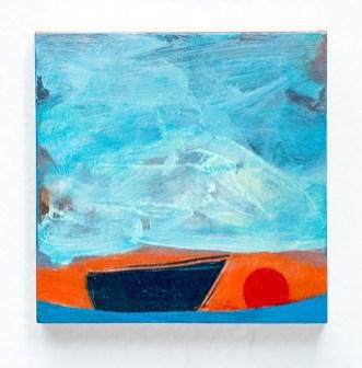 Suzanne Archibald Little Boat Acrylic on wood $200.00