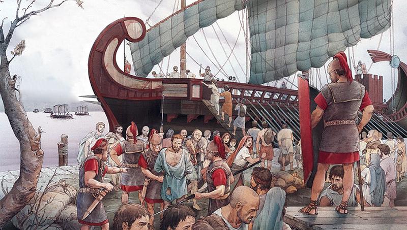 La deportazione dei Liguri Apuani
