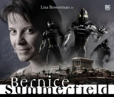 Couverture Big Finish d'un coffret Bernice Summerfield (Lisa Bowerman)