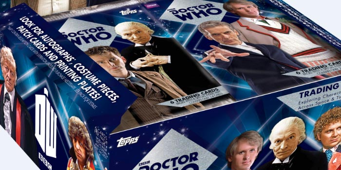 Topps lance les Cartes Doctor Who à collectionner