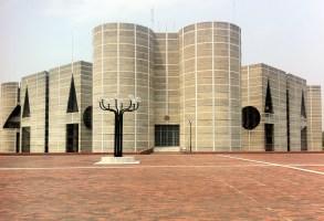 The National Assembly in Dhaka, Bangladesh