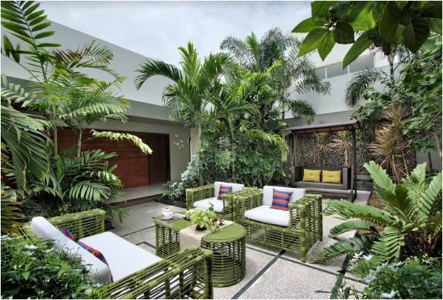 green-furniture