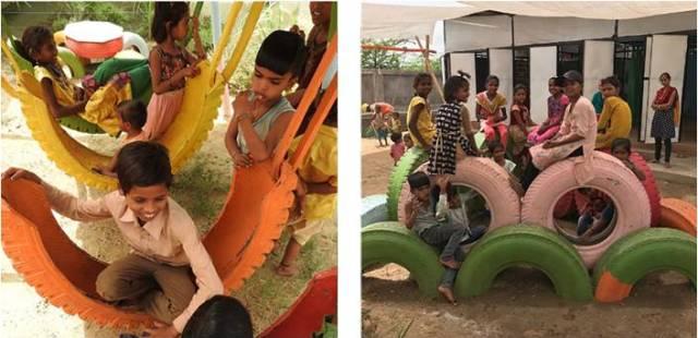 Kids enjoying at Playground 2