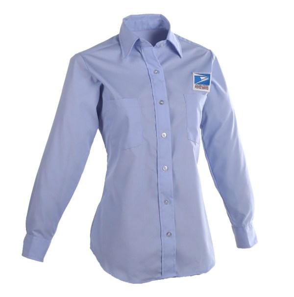 Postal Uniform Shirt Womens Long Sleeve for Letter Carrie...