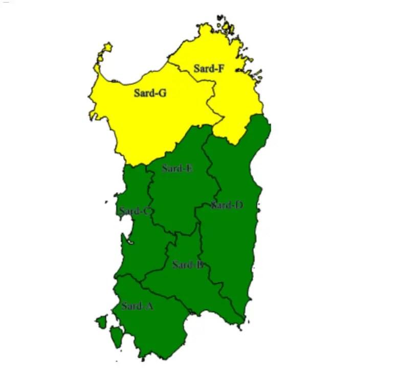 Ancora maltempo a Sassari e provincia: allerta della Protezione civile
