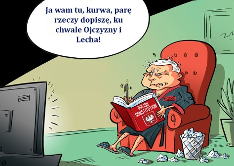 kacynski-poland-democracy-constitution-cartoon copy