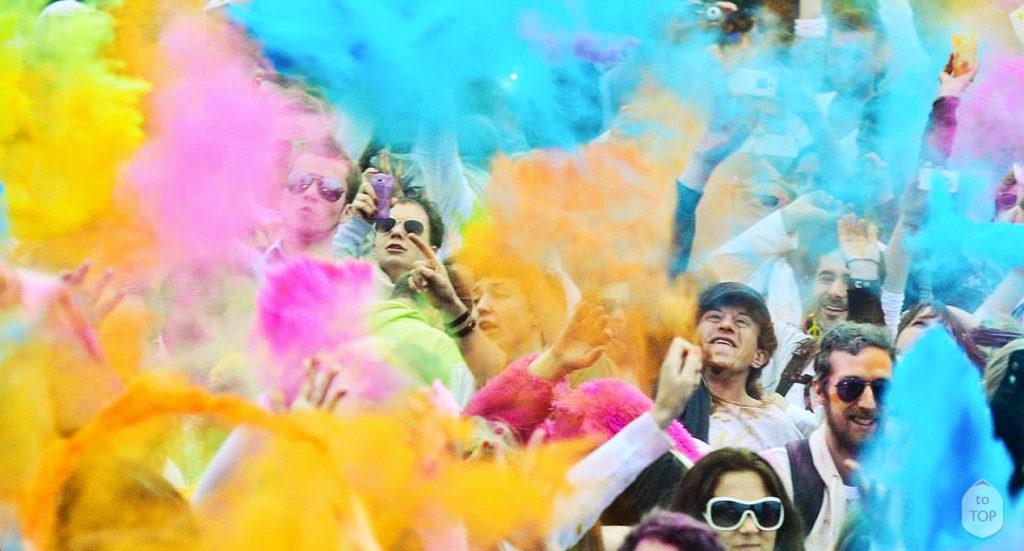 The Holi One. Take part. In a very meaningful way.
