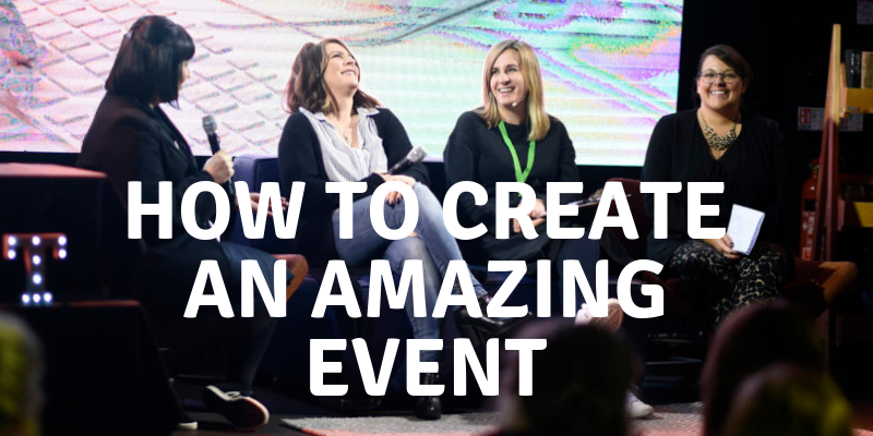 tips on organising an amazing event