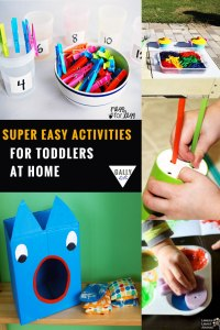 Easy activities for toddlers that you can easily do at home. Make every day count, make every day an activity day with these crafts, games and more.. @gallykids