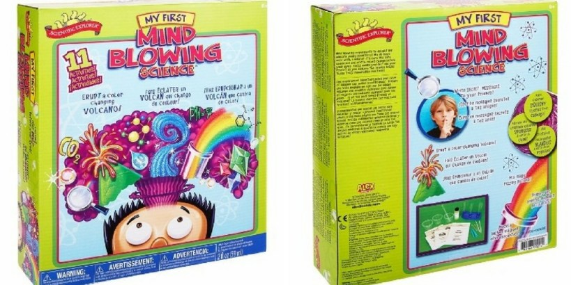 Scientific Explorer Science Kit: One of the best kits for young kids.