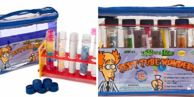 Test Tube Wonders Science Kit: Cool kit for kindergarten. Kid friendly test tubes for making the coolest science experiments.