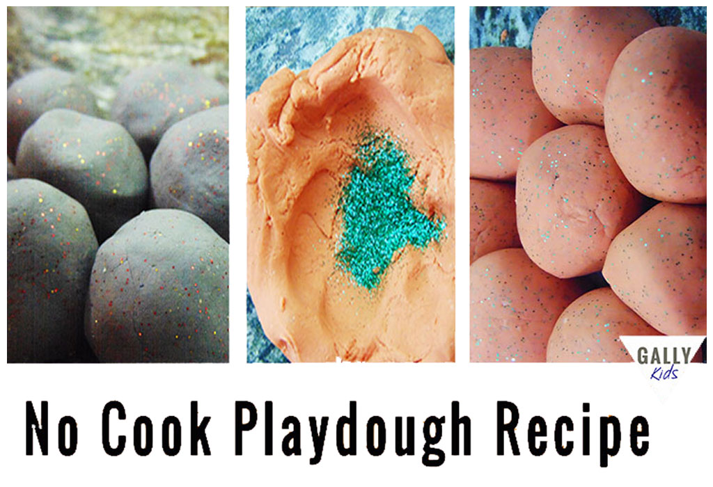 No Cook Playdough Recipe For Preschoolers