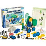 Thames and Kosmos Air and water Power vehicles science kit. Make pneumatic and hydraulic engines