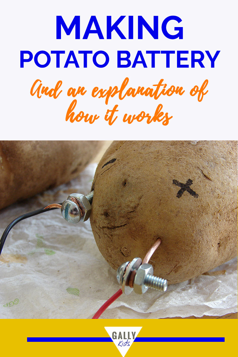 how to make a potato battery step by step