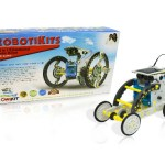 14 in 1 Solar Robot toy - A great way to learn how solar power works as well as how to assemble a beginner's robot.