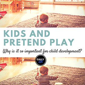 The importance of pretend play in child development.