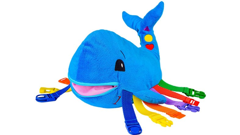 It's not just a plush toy, it's also an all around activity toy and boredom buster. You'll be surprised how much toddlers love this.