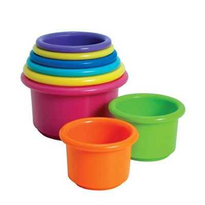 Cheap and affordable stacking cups that are great for scooping activities too.
