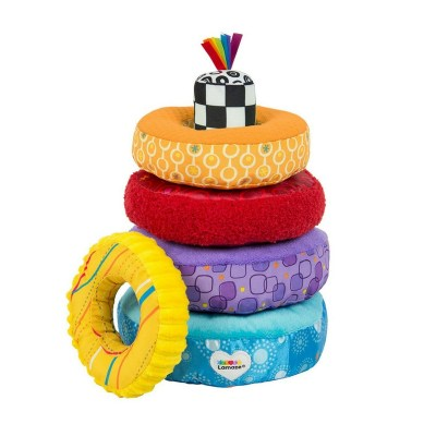 Lamaze Large Rings. Large and soft for baby's hands.