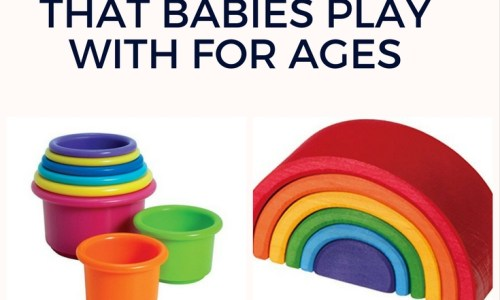 The Best Baby Stacking Toys That Help Cognitive Development