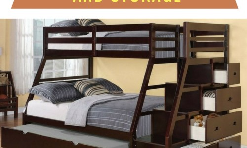 The Best Bunk Beds With Stairs And Storage That Make Bedrooms Look So Luxurious!