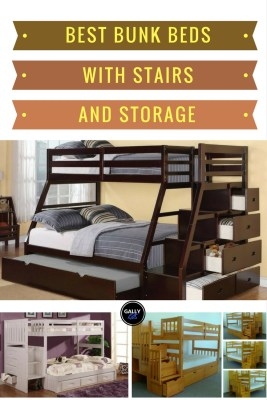 Choose The Best Bunk Bed With Stairs And Storage Some Even Come A Trundle