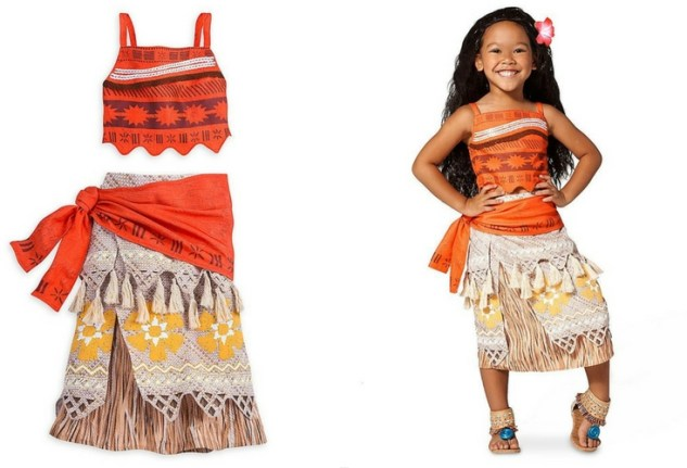 The official Disney Moana costume. Includes the top and the skirt.