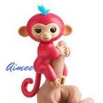 Aimee Fingerling toy. The sporty monkey who will race her friends to the top. She comes with the Jungle Gym playset.