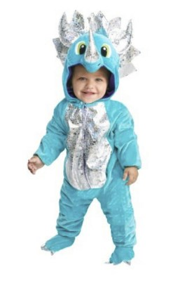 Darlink Dinosaur costume - the cutest costume I've found in this color and I bet your toddler will love it too.