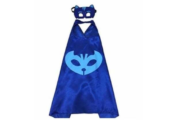 Easiest way to make a Catboy costume. Just put blue sweats on and these cape and mask and voila!