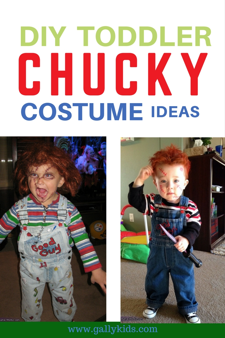 How To Do A Toddler Chucky Costume: DIY + Costume Ideas