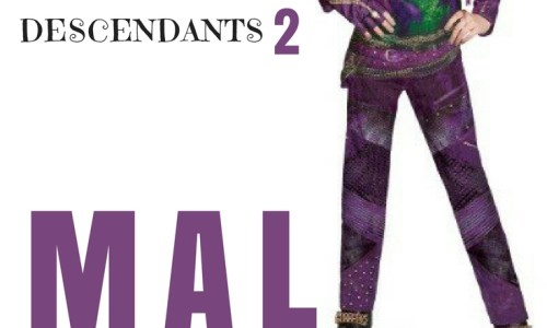 Descendants 2 Mal Costume Ideas: From The Wig To The Outfit