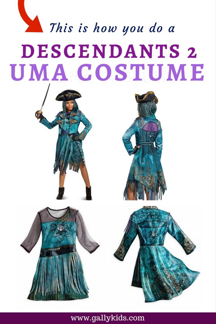 This is how you do a descendants 2 uma costume diy instructions solutioingenieria Images