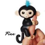 Finn Fingerling toy. A playful robotic toy who swings to his own drum.