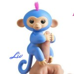 Liv Fingerling toy. Playful electronic baby monkey who comes with the swing playset.