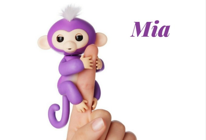 Mia Fingerling Toy. Robotic electronic toy who is curious about the giant world around him