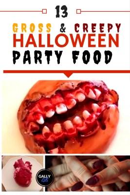 Zombie mouth, severed fingers, brains in a jar. Is there anything more creepy and gross than these? Here are this year's scariest food for a Halloween party.