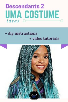 From the wig to the frilly skirt. An easy way to do an Uma costume from Descendants 2