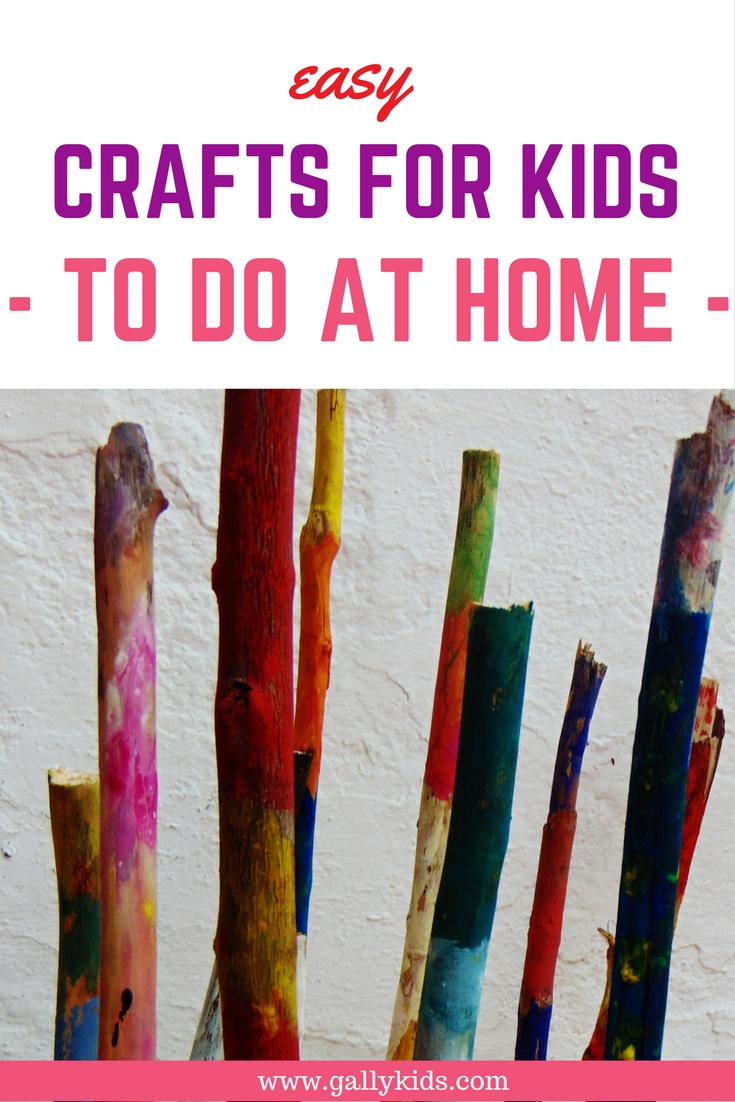 Easy Crafts For Kids To Do At Home