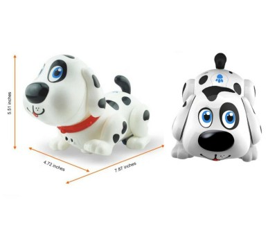 Harry the Electronic robot dog. A toy that lots of toddlers love. This can sing, dance, bark and more.