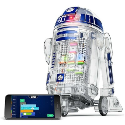 How cool is this? With this inventor kit, your child can build his own droid and using a smart phone can program it to do a few fun things.