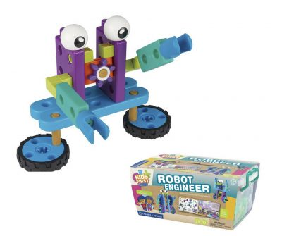 Robot Engineer - robot toy for the toddler who likes to build and screw things together.