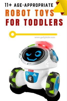 Best robot toys for toddlers. A good collection from educational robotic toys to ones that toddlers can build themselves.