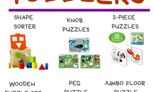 The Best Puzzles Toddlers' Development