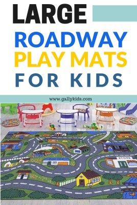 Roadway Play Mat For Kids Cool Road Rugs For Toy Cars