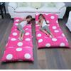 Pink floor lounger